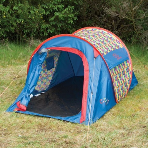Pop Up Tent Colour Burst