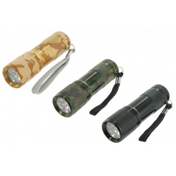 Cobra Ultra scherp licht 9 led zaklamp