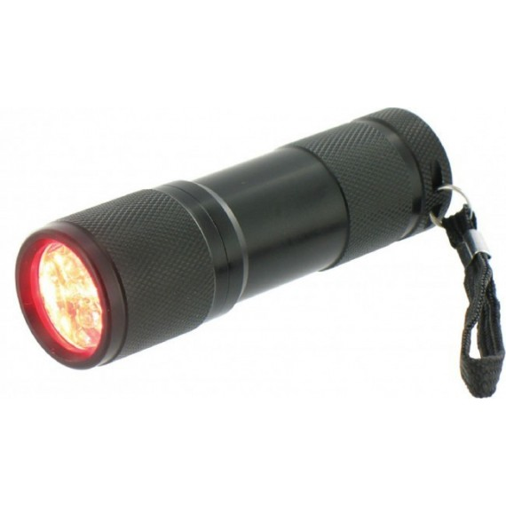 Cobra Rode Led zaklamp