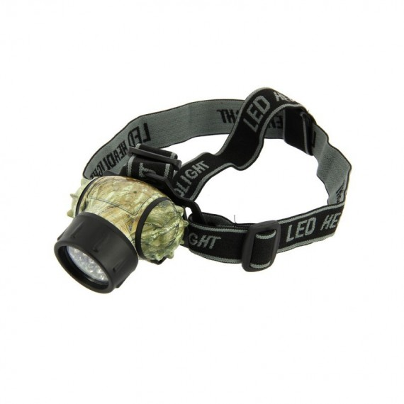 19 LED Multi-Function Headlight In Camo