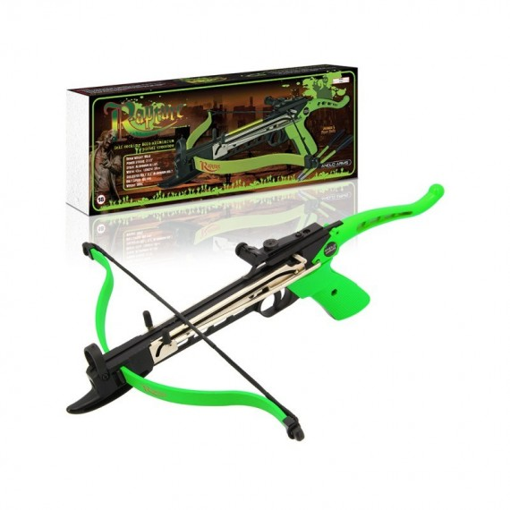 80lb Aluminium 'RAPTURE' Zombie Self Cocking Crossbow