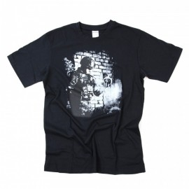 T-SHIRT 101 INC SOLDIER SKULL