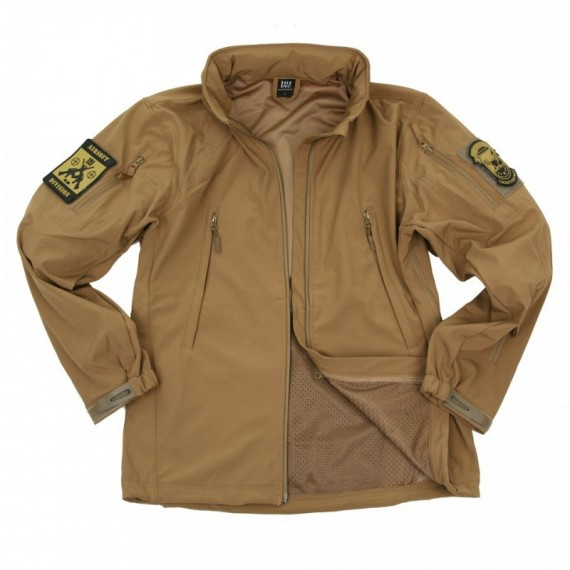 SOFT SHELL JACK TACTICAL SUMMER VERSION