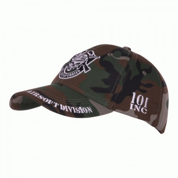 BASEBALL CAP 101 INC AIRSOFT DIVISION WOODLAND