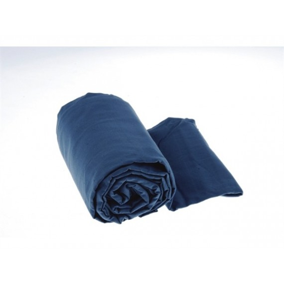 Sea to Summit Premium Cotton Liner Long Pacific Blue - Katoe