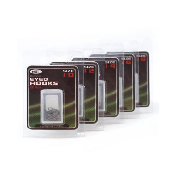 Coarse Hooks - Size 8 Barbless,