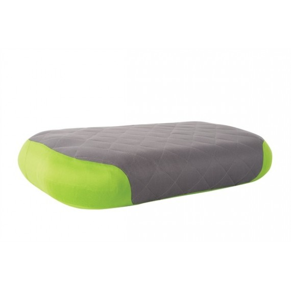Sea to Summit Aeros Pillow Premium Deluxe Green - Hoofdkussen