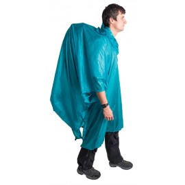 Sea to Summit - Ultra-Sil Nano Tarp Poncho 15D Blauw