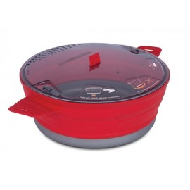 Sea to Summit - X-Pot 4L - Campingpan inklapbaar - Pan - Rood