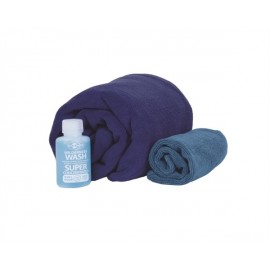 Sea to Summit - Tek Towel Wash Kit - Reishanddoek - L - Blauw