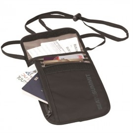 Sea to Summit - Neck Wallet - Reisportemonnee - Zwart/Grijs