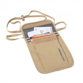 Sea to Summit - Neck Pouch - Reisportemonnee - Sand/Grijs