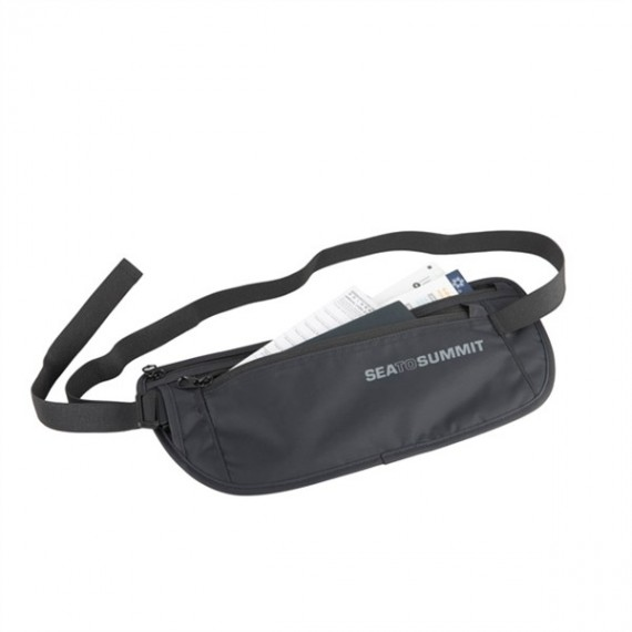 Sea to Summit - Money Belt - Heuptassen - Zwart/Grijs
