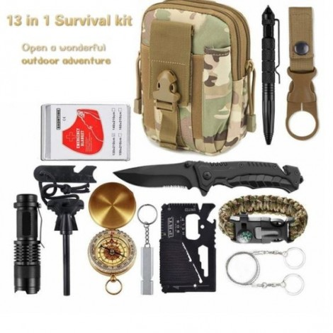 13 in 1 survival kit