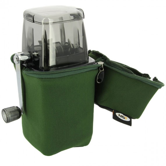 Neoprene Case For the NGT Bait Grinder System