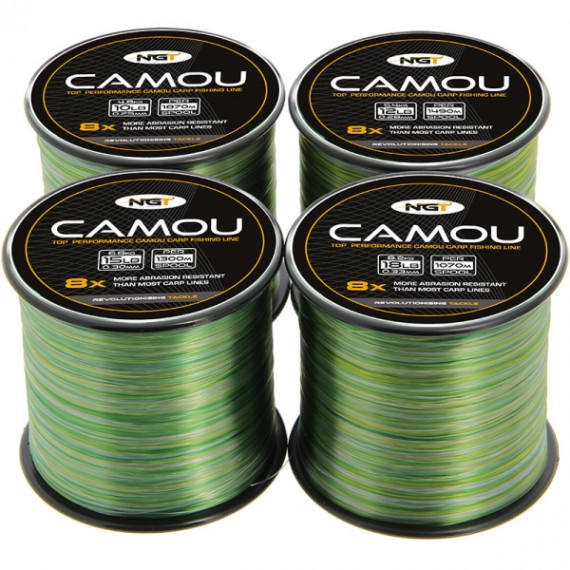 NGT Spool of Camo Line 0,25mm