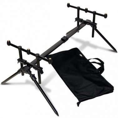 NGT Quickfish 3-Rod Pod incl. Tas